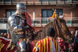 Torneos del siglo XV con caballos