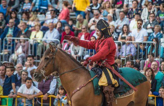 Torneo con caballos