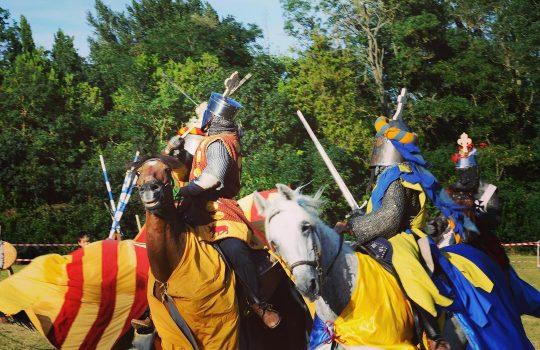 Didáctica y divulgación. Recreación de batallas medievales